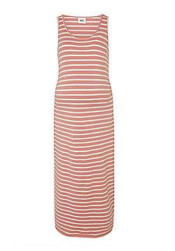 Mamalicious Striped Maxi Maternity Dress - Multi