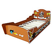 Kiddi Style Childrens Pirate Themed Wooden Boat Bed - Brown