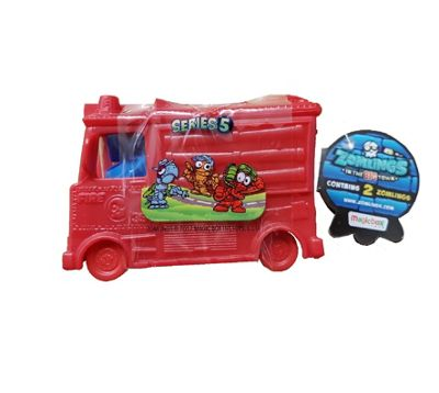 Zomlings Series 5 Blind Bags With Big Zom-Mobile 1 x Supplied #Red