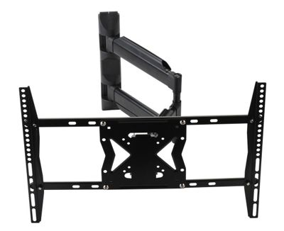 buy black universal swing arm tv wall bracket for 32 inch. Black Bedroom Furniture Sets. Home Design Ideas