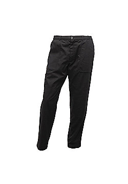 Regatta Mens Lined Action Trousers - Black