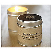 Eval Tin Candle, Bay & Rosemary TINBR