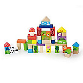 50 Piece Block Set - Farm