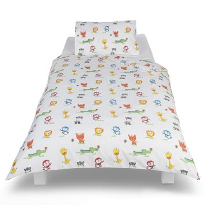 Jungle Toddler Bedding Set From Tesco