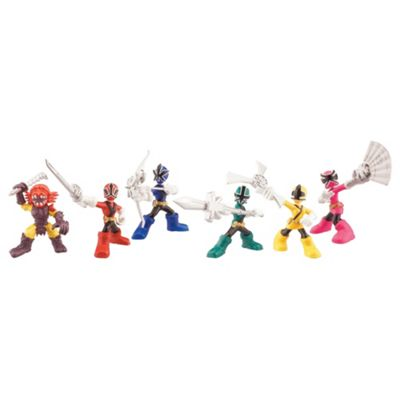 Power Rangers Super Samurai Mini Figures