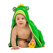 Zoocchini Baby Hooded Towels - Flippy the Frog