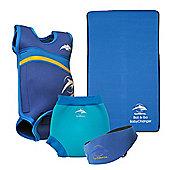Konfidence Baby Swimming Starter Pack Blue - Blue