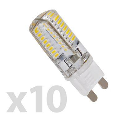 Buy Pack of 10 Minisun Mini High Power 3W G9 LED Bulbs Cool White ...