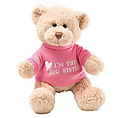 Gund 29cm I Am The Big Sister Plush Teddy Bear