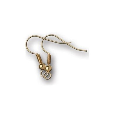 Impex Ear Wires Gold 10pk
