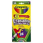Crayola 68-2424 Erasable Colour Pencil (Pack of 24)
