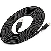 Griffin GC36633-3 New USB to Lightning Multy Use Cable│iPhone & iPad│3 Mtr│Black