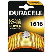 1 x Duracell CR1616 3V Lithium Coin Cell Battery DL1616 1616 BR1616 ECR1616