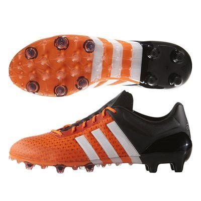 adidas ACE 15+ Primeknit FG Football Boots Orange / White / Black 10