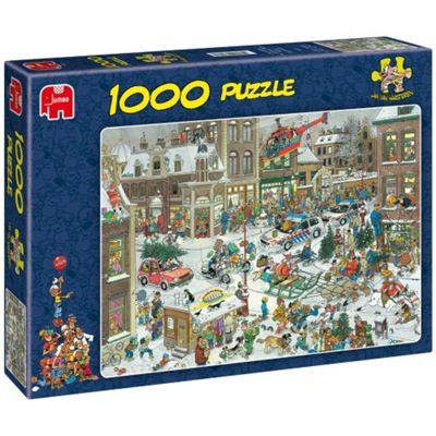 Jan Van Haasteren Christmas Puzzle - 1000 Pieces