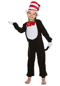 Dr Seuss The Cat in the Hat Dress-Up Costume - Black