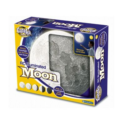 Remote Control Moon Wall Light