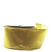 "Ribbon Organza Wired Edge - 2.5"" x 10y - Metallic gold"