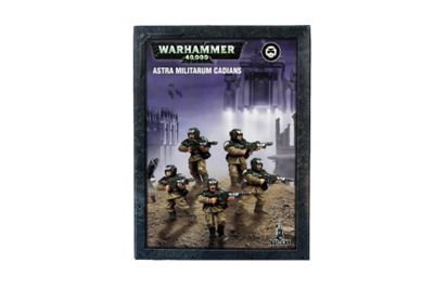 Warhammer Imperial Guard Cadians Model Kit