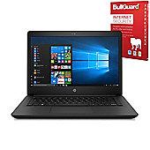 "Certified Refurbished HP 14-bp061sa 14"" Laptop Intel Core i3-6006U 4GB 500GB Windows 10 with Internet Security - 1VH16EA#ABU"