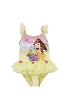 Disney Princess Belle Tutu Swimsuit Yellow 12-18 months