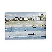 Fisherman's Tale Hand Painted Effect Canvas 40cm x 60cm