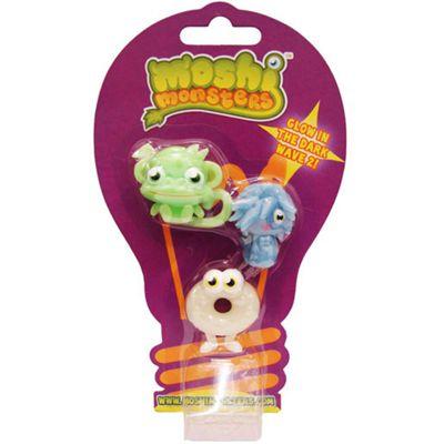 Moshi Monsters Glow in the Dark Moshlings Series 2 - Three Pack