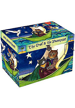 Girls Musical Jewellery Boxes – Owl and the Pussycat