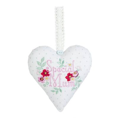 Special Mum Lavender Scented Fabric Heart