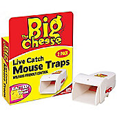 Toolbank Live Catch Ready To Use Twin Mouse Trap