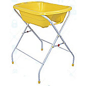 Bebe Style Baby Portable Foldable Bath With Stand - Yellow