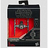 Star Wars Episode VII Black Series Titanium TIE Fighter - Figures