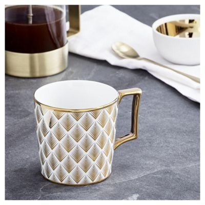 buy fox ivy soho diamonds mug from our fox ivy soho. Black Bedroom Furniture Sets. Home Design Ideas