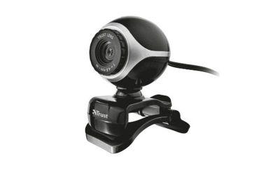 Trust Exis Webcam (Black/Silver)