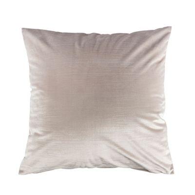 Homescapes Luxury Cream Velvet Cushion Cover, 60 x 60 cm