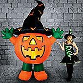 Light Up Inflatable Giant Pumpkin - 3m Halloween Prop