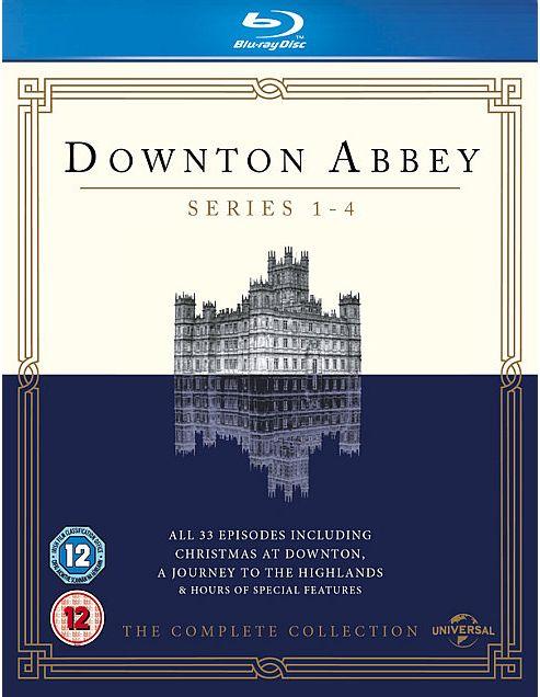 Downton Abbey S1-4 Bd