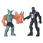 Marvel Ultimate Spider-Man Sinister 6 Two Figure Battle Pack - Agent Venom vs. Green Goblin