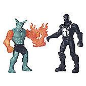 Marvel Ultimate Spider-Man Sinister 6 Two Figure Battle Pack - Agent Venom vs. Green Goblin