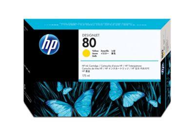 HP 80 Ink Cartridge - Yellow