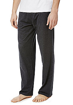 F&F 2 Pack of Marl Lounge Pants - Grey marl
