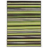 Element Canterbury Green & Brown Rug 160x220cm