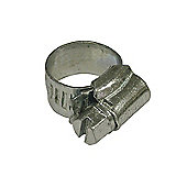 Faithfull OX Hose Clip - Zinc MSZP 18 - 25mm