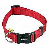 WalkingMate Animate Magnetic Dog Collar Red Medium 35 - 50cm