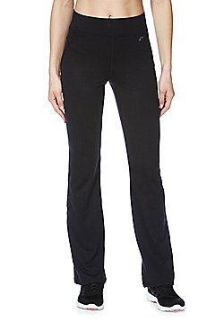 F&F Active Petite Bootcut Leggings - Black
