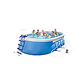 18X12X48 Oval Steel Frame Pool Set