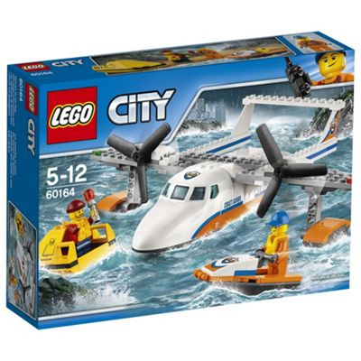LEGO City Coast Guard Sea Rescue Plane 60164