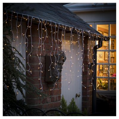 Tesco 360 Outdoor Bright White Icicle Lights - Buy Tesco 360 Outdoor Bright White Icicle Lights From Our All