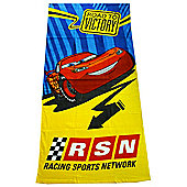 Disney Cars Road to Victory Towel