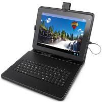 Storage Options Leatherette Wallet and Integrated USB Keyboard for Scroll 9.7 inch Tablet PC CBID:2017629